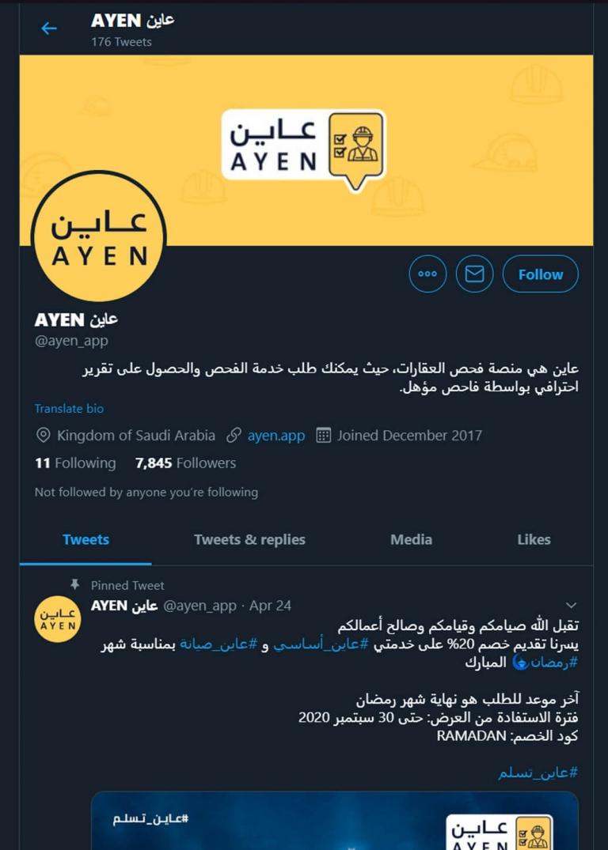 Company Website Development - Ayen